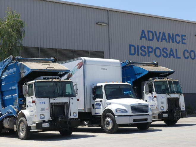 COVID-19-related staffing shortages at Advance Disposal may cause weekly pick-up time delays, the company says.