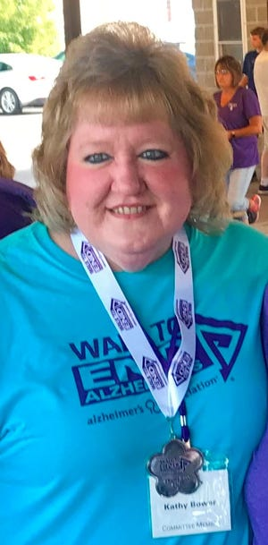 Fillmore resident Kathy Bower has been honored by the Alzheimer's AssociationWestern New York Chapter with the William P. Gillick Quality of Life Award for 2020.