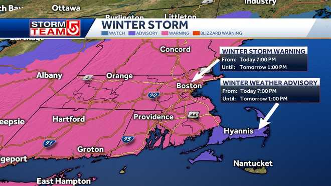 An expected winter storm may bring blizzard conditions to the region by Dec. 17.
