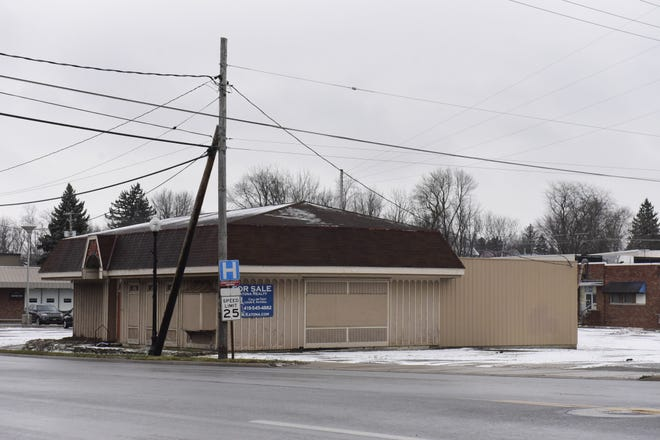 The vacant building at 510 N. Sandusky Ave. in Bucyrus will not be part of the city's new Norton Park.