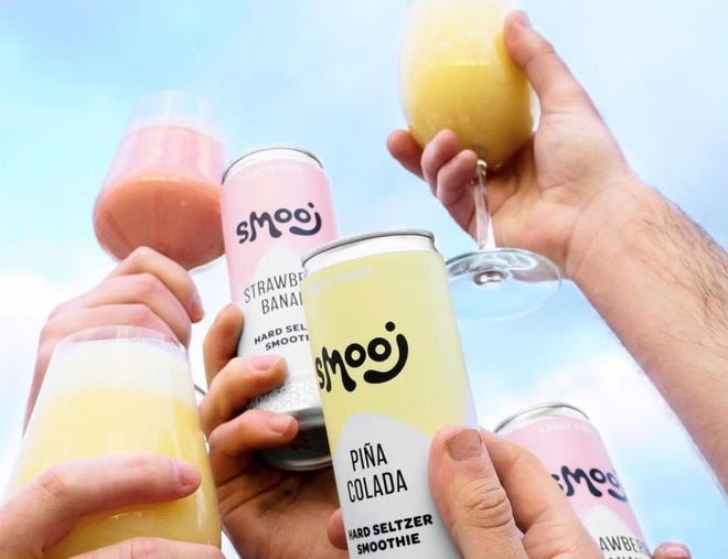 Smooj, a hard seltzer smoothie, from HOMES Brewery's sister company, Troobado.