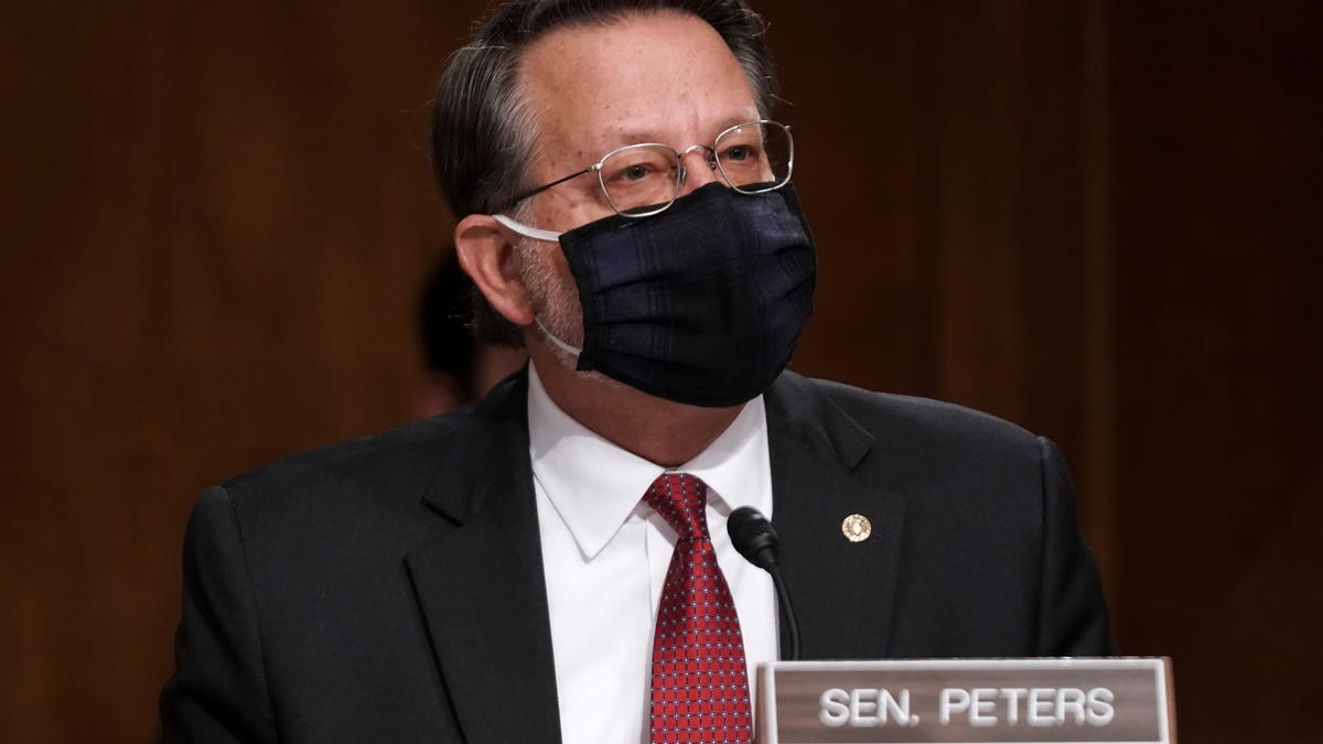 'It can never happen again': Peters to probe Capitol attack as Homeland Security chair 1