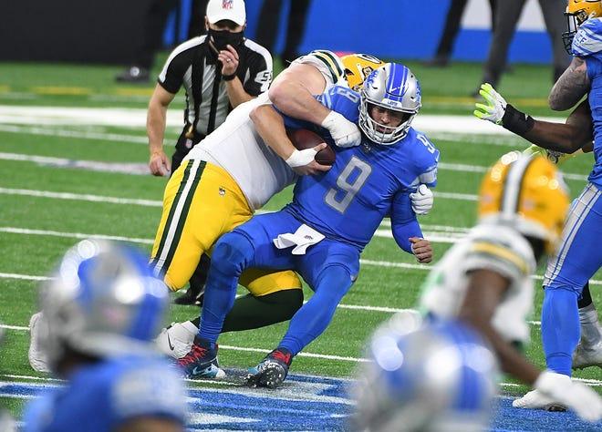 Lions quarterback Matthew Stafford will not practice Wednesday.
