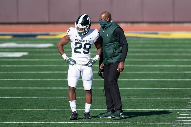 Michigan State cornerback Shakur Brown was named first-team all-Big Ten on Wednesday by the coaches.