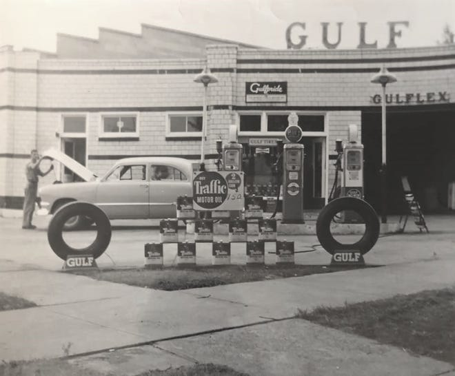 Klos Gulf gas station was on East State and Ohio Avenue.