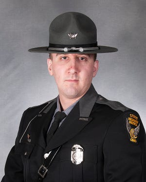 Andrew M. Kobosky, Ohio State Highway Patrol Trooper, of the Marion Post.