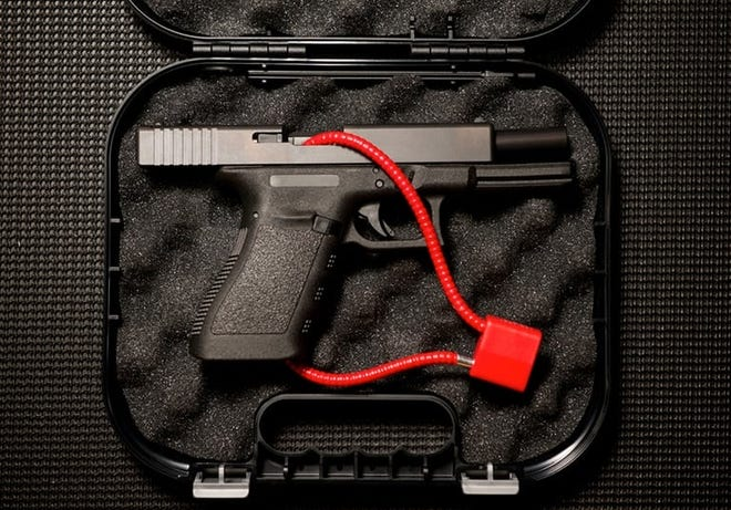 The Milwaukee Fire Department encourages residents to obtain a free gun lock at any of its firehouses or any city-run COVID testing facility.