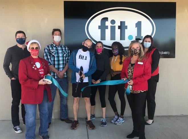 The Mountain Home Area Chamber of Commerce recently held a ribbon cutting at Fit.1's new facility at 905 South Street in Mountain Home. Fit.1 offers group fitness, personal training, nutrition coaching, supplements, running gear, apparel, footwear, and more. In addition to classes, Ozark Cryotherapy is located next door, and appointments can be booked on the Mindbody app. For more information visit their Facebook page, their website at fitpointone.com or call (870) 425-3481.