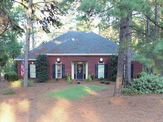 One Merry Station home is for sale for $391,300 and provides four bedrooms and three and a half bathrooms within 3,010 square feet of living space.