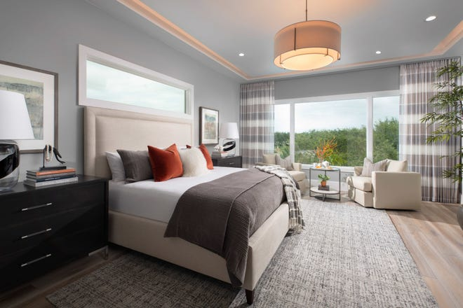 Seagate Development Group's two-story, 4,414 square feet under air Monterey model in Isola Bella at Talis Park has sold and will remain open for viewing.