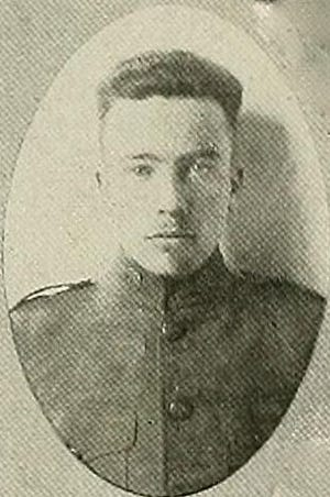 Arthur Wright Jones, of Granville, served in the Army at the end of World War I.