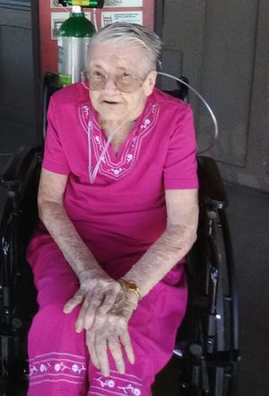 Helen DeMarco of Las Cruces turned 105 on Dec. 15.