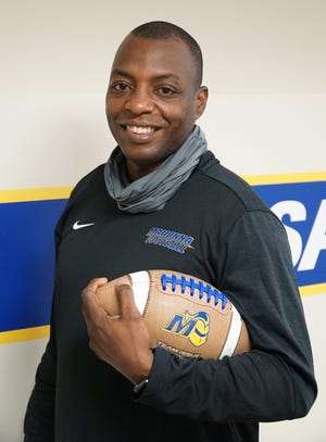 Coach Herb Haygood will be guiding the Madonna Crusaders' football team as it starts play in the spring of 2021.