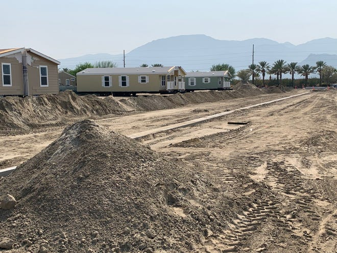 The Mountain View Estates mobile home park in Oasis will be expanded after a county bid to buy Ivy Palm Motel in Palm Springs for affordable housing fell through in December 2020.