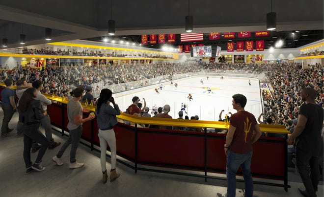 Arizona State's new multi-purpose arena will serve as the home for ASU hockey, wrestling and gymnastics as well as community events including concerts.