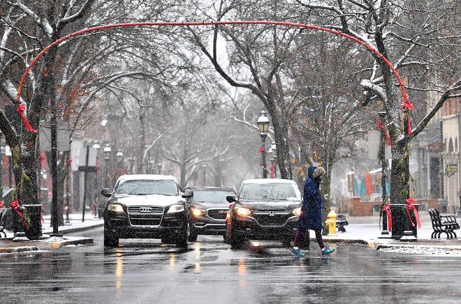 Winter storm weather hits York County, Wednesday, Dec. 16, 2020. Dawn J. Sagert photo