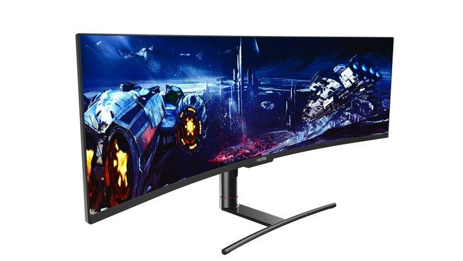 The Viotek SUW49DA is a curved 49-inch ultrawide monitor geared toward gamers.