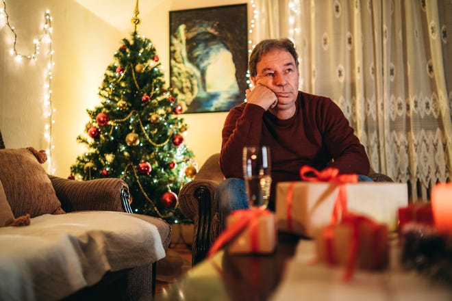 Depression during the holidays is common, even without a pandemic.