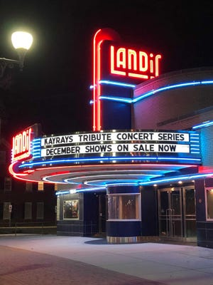 "Next up in the Landis Theater's Kaycee Ray's Tribute Concert Series is ""A Very Van Halen Christmas with Romeo Delight"" on Dec. 18. The theater continues to add concerts to the schedule!"