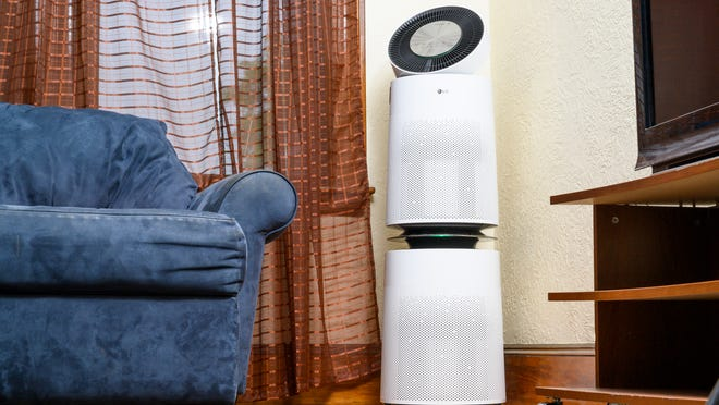Smart features are abound in this air purifier.