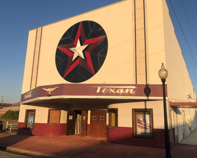 "Photographer Mike Robertson classified the Texan Theater in Kilgore as a ""Fixer-Upper"" among the 175 old Texas movie theaters that he shot in 2020."