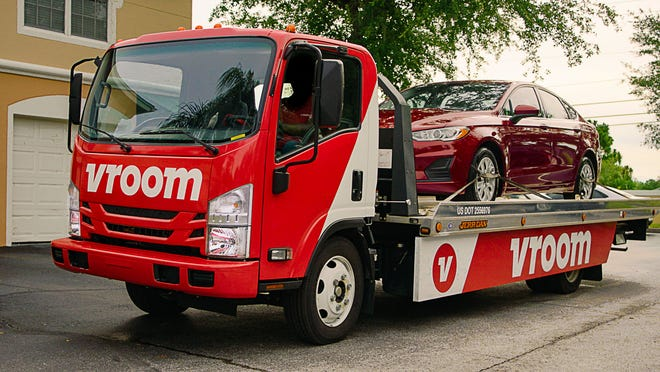 Austin-based CarStory has agreed to be acquired by online used car seller Vroom for $120 million.