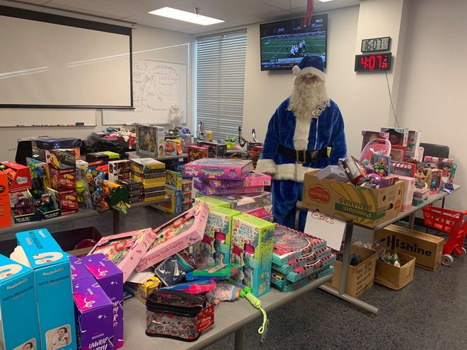 The Bastrop police department's Blue Santa program delivered Christmas toys to 137 kids as of Wednesday.