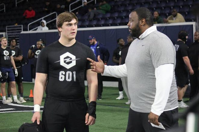 Fort Worth All Saints offensive tackle Tommy Brockermeyer was a part of Alabama's recruiting class that's No. 1. He's one of six five-star signees that inked with the Crimson Tide.