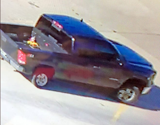 Police are on the lookout for a black GMC Sierra where they believe a missing Jefferson City man is an occupant. The man was seen in the truck Monday in the drive-thru of the Clark Lane McDonald's.