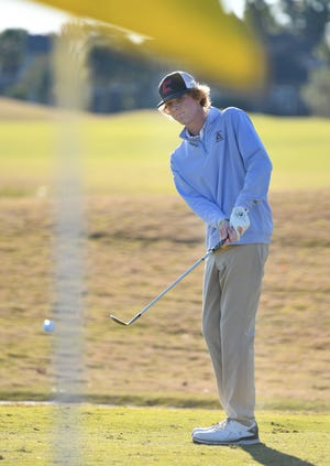 Andrew Riley of Creekside High School is the Times-Union's boys golf player of the year.