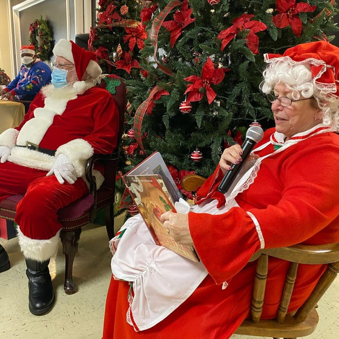The duties of Penny Kievet, executive director of Jacksonville's City Rescue Mission, have included seasonal stints as Mrs Claus. She retires Dec. 31.