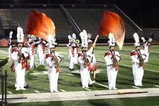 The Glen Rose Tiger Pride Band placed 13th at the UIL Area Marching Contest earlier this month.