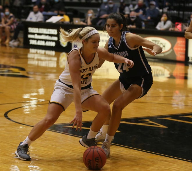 Madison Mittie has been solid off the bench for the Fort Hays State women's basketball team.