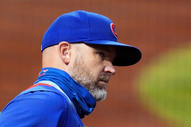 Chicago Cubs manager David Ross said he wasn't shocked when former president of baseball operations Theo Epstein decided to resign.