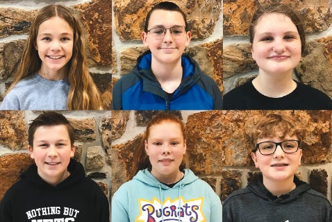 School of the Osage announces November Leaders of the Month
