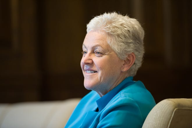 President-elect Joe Biden has selected Gina McCarthy, a Canton native, to run a special White House office on climate change that will coordinate policy.