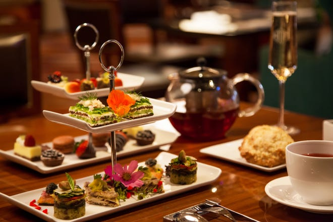 The Breakers' HMF is featuring special holiday tea services on most days for the rest of the month.