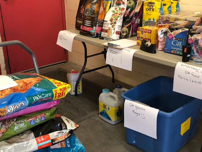 The New Hampshire SPCA is holding a pet food giveaway Sunday, Dec. 19 from 11 a.m. to 2 p.m. at its shelter in Stratham. The food is free to any pet owner that needs it. Staff will put it directly into your car at the curbside event.