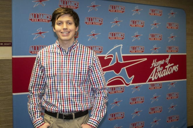 Anthony Zumbar of Alliance High School is a Stark State College Teen of the Month for December.