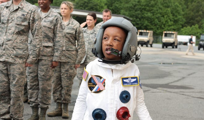 Make-A-Wish Georgia recently granted the wish of a young boy who wanted to visit Saturn.
