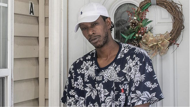 Cedric Williams was walking his dog last June when a white neighbor argued with him, using racial slurs, then shot him when Williams was returning home. [Bill Hand / Sun Journal Staff]