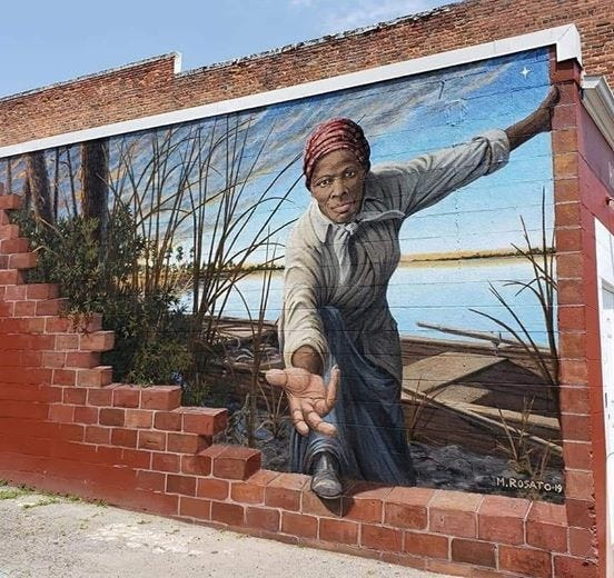 Mural by Artist Michael Rosato (2019) [CONTRIBUTED PHOTO]