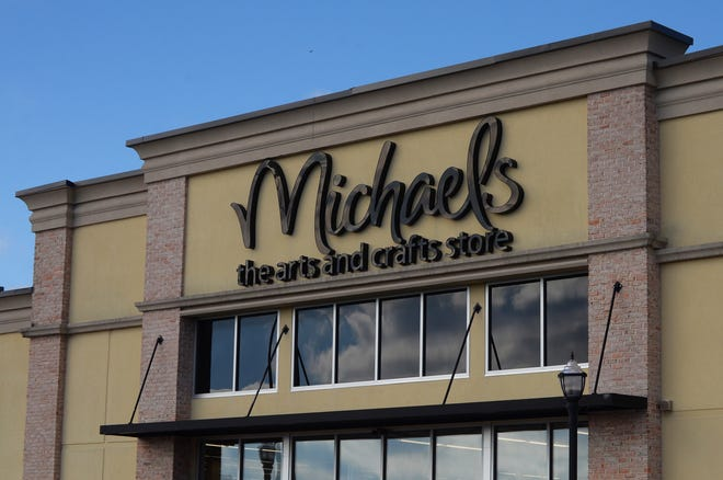 Michaels arts and crafts store in the New Bern Mall has announced it will be closing, though the exact date remains unclear. [TODD WETHERINGTON / SUN JOURNAL STAFF]