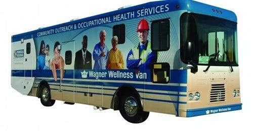 Highmark Blue Cross Blue Shield Delaware awarded TidalHealth with a $150,000 grant from BluePrints for the Community to be used toward the purchase of a second mobile wellness van, which will primarily serve Sussex County.