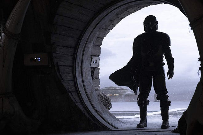 """Set in the """"Star Wars"""" universe, """"The Mandalorian"""" is one of the original series available at Disney+."""