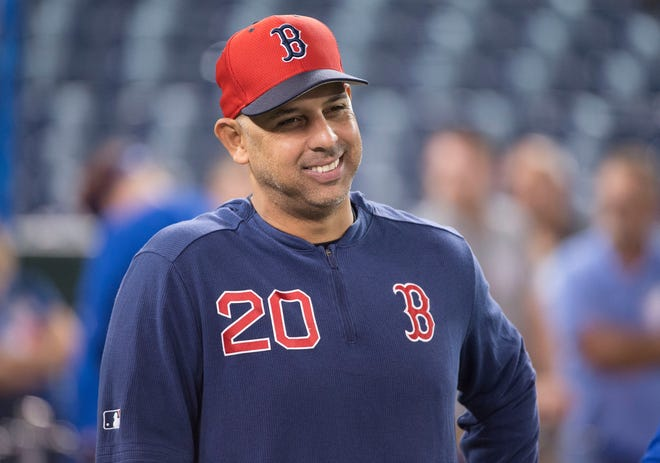 Red Sox manager Alex Cora had plenty to talk about over Zoom with the media on Thursday.