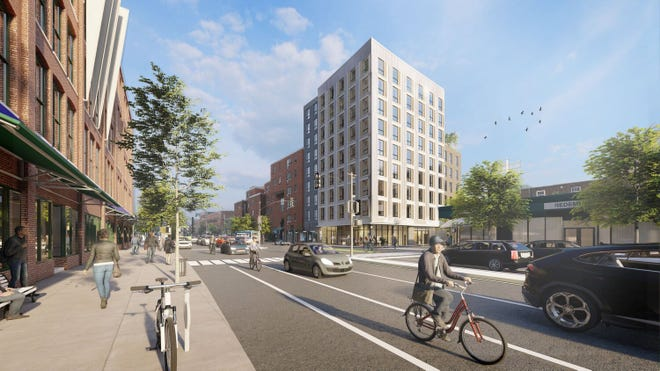 A fully affordable housing project is being proposed at 2072 Massachusetts Ave. in Porter Square.