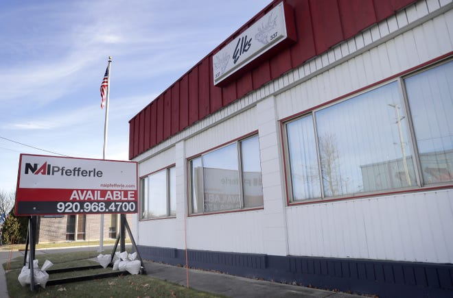The Appleton Elks Lodge #337 building at 1103 W. College Avenue is for sale.