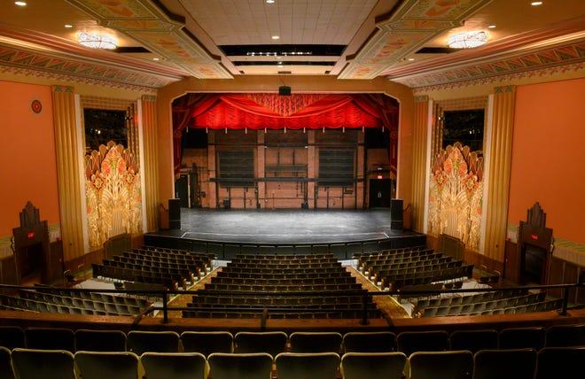 An empty Flynn theater in Burlington.