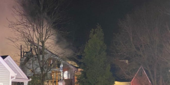 Crews are on scene right now at a house fire in the 8300 block of Tidewater Court in Anderson Township. One person is dead and a second is unaccounted for in the early morning blaze Hamilton County dispatchers say.